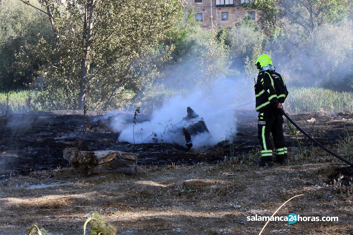 Incendio pasarela huerta otea (15)